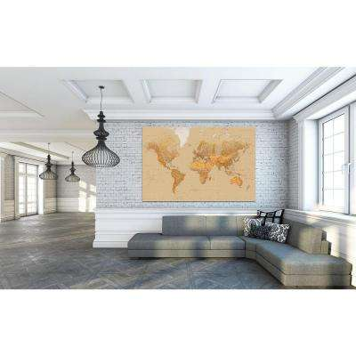 69 in. H x 45 in. W The World Wall Mural