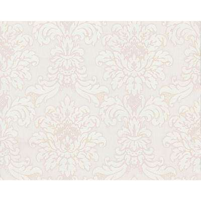 75 sq. ft. Traditional Damask Wallpaper