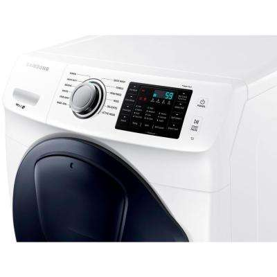 4.5 cu. ft. High Efficiency White Front Load Washer with AddWash Door in ENERGY STAR