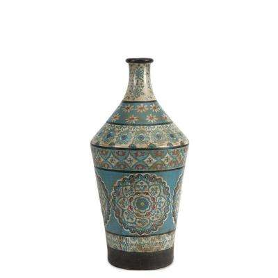 Kabir Large Hand Painted Vase