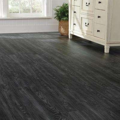 Allure Ultra 7.5 in. x 47.6 in. Aspen Oak Black Luxury Vinyl Plank Flooring (19.8 sq. ft. / case)