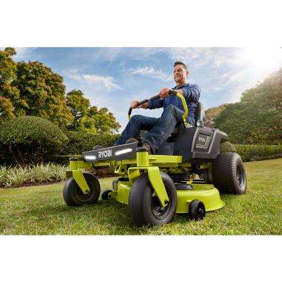 42 in. 100 Ah Battery Electric Zero Turn Riding Mower