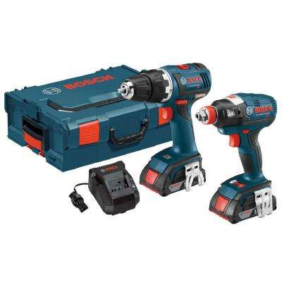18-Volt Lithium-Ion Cordless Brushless Drill/Driver and Socket-Ready Impact Driver Combo Kit (2-Tool)