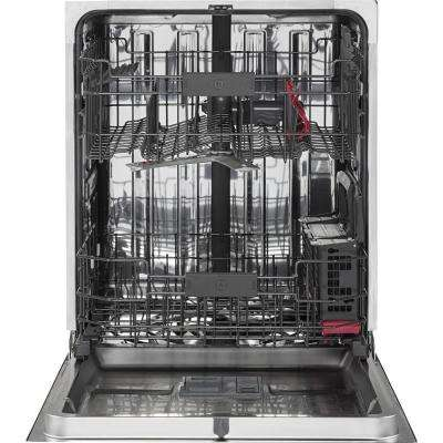 Cafe Top Control Dishwasher in Stainless Steel with Stainless Steel Tub and Bottle Jets