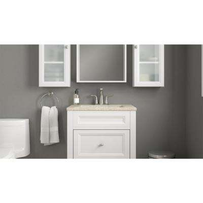 Modular 12 in. W x 31 in. H x 6 in. D Bathroom Storage Wall Cabinet in White