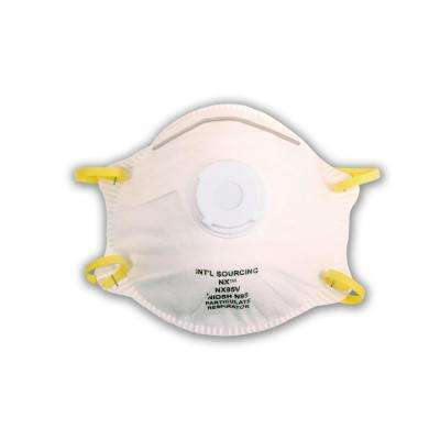 N95 Approved Valved Particulate Respirator (10 per Box)