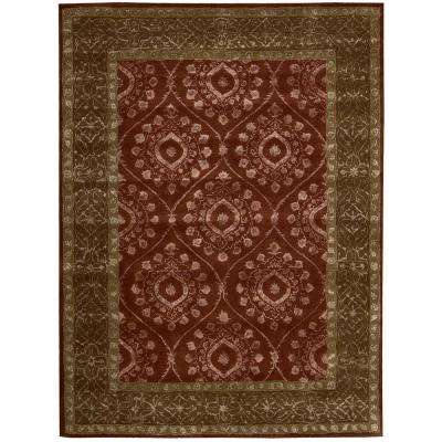 Symphony Ruby 5 ft. 6 in. x 7 ft. 5 in. Area Rug