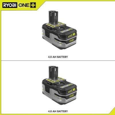 18-Volt ONE+ Lithium-Ion 4.0 Ah LITHIUM+ HP High Capacity Battery 2-Pack