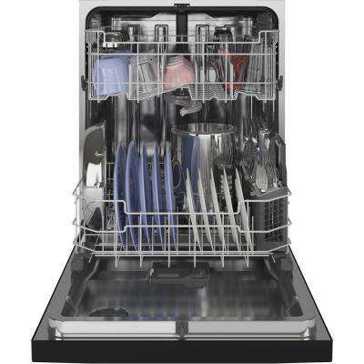 Front Control Tall Tub Dishwasher in Black with Stainless Steel Tub and Dry Boost, 48 dBA
