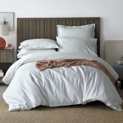 Spotlight Cotton Percale Duvet Cover Set