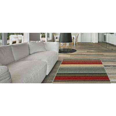 Hamam Collection Multi 3 ft. x 5 ft. Area Rug