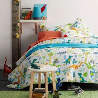 Giant Dinos 200-Thread Count Cotton Percale Comforter