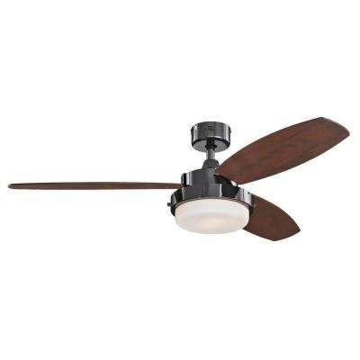 Alloy 52 in. LED Gun Metal Ceiling Fan