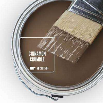 Behr Marquee 1 Gal Home Decorators Collection Hdc Fl15 04 Cinnamon Crumble Matte Interior Paint Primer 145301 The Home Depot