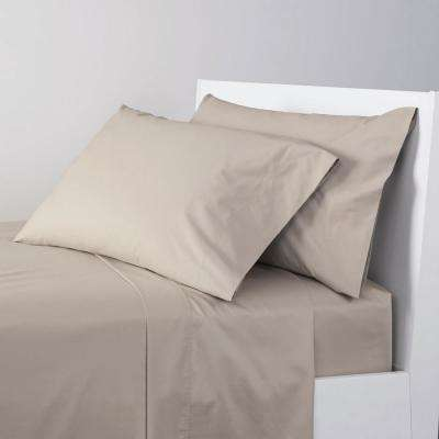 4-Piece 300 Thread Count Percale Sheet Set