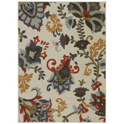 Salinas Multi 7 ft. 6 in. x 10 ft. Area Rug