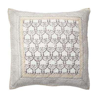 Aztec Patchwork Cotton Sham