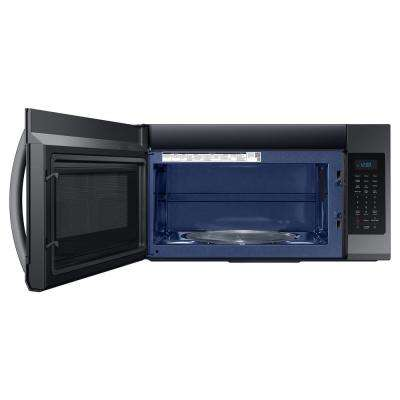 30 in. 1.9 cu. ft. Over the Range Microwave in Fingerprint ResistantBlack Stainless Steel