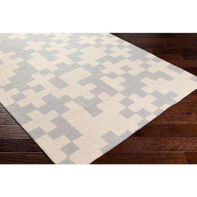Hilda Beatrix Light Gray 2 ft. x 10 ft. Indoor Runner Rug