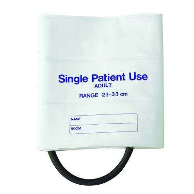 MABIS Single-Patient Use Blood Pressure Cuffs with Single-Tube