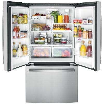 27 cu. ft. French Door Refrigerator in Fingerprint Resistant Stainless Steel, ENERGY STAR