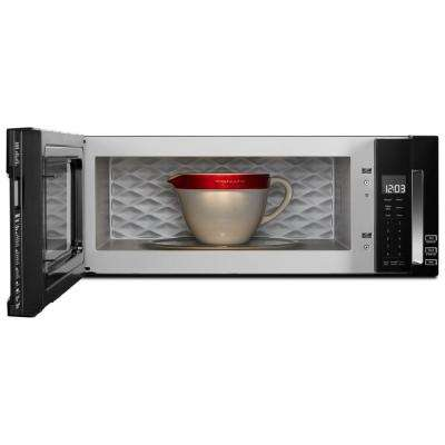 1.1 cu. ft. Over the Range Low Profile Microwave Hood Combination in Black