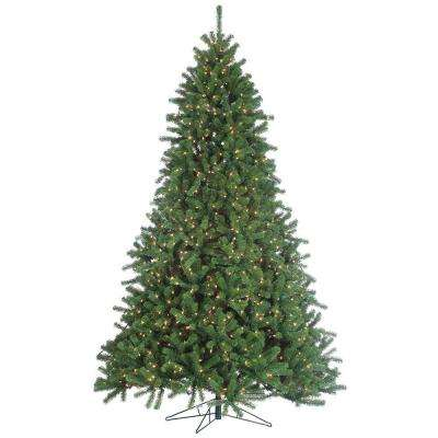 9 ft. Pre-Lit Grand Canyon Spruce Artificial Christmas Tree with Clear Lights
