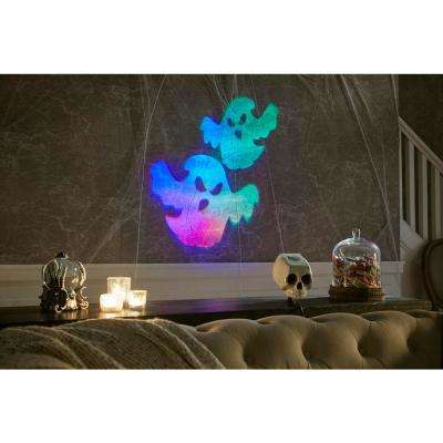 Halloween Specter Projector Fire and Ice Realistic Faces with 6-Slides LightShow Projection