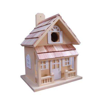Country Cottage Birdhouse (Yellow)