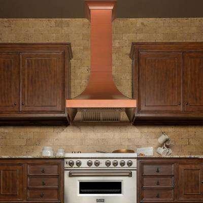 "ZLINE 36"" Designer Series Copper Finish Wall Range Hood (8632C-36)"