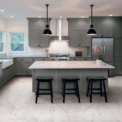 Impero Calacatta Premium 12 in. x 24 in. Porcelain Floor and Wall Tile (542.4 sq. ft. / pallet)