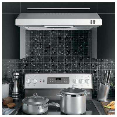 30 in. Over the Range Convertible Range Hood in Stainless Steel