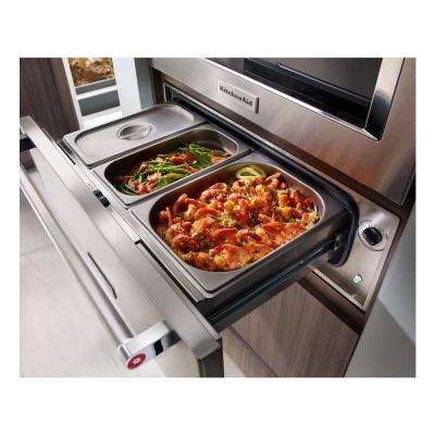 Architect Series II 30 in. Slow Cook Warming Drawer
