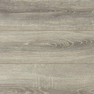 Take Home Sample - Silverbrook Aged Oak Laminate Flooring - 5 in. x 7 in.