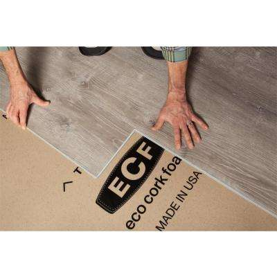 75 sq. ft. 3 ft. x 25 ft. x 3.2 mm Waterproof Premium Plus 10-in-1 Underlayment for Vinyl, Laminate, Engineered Floors