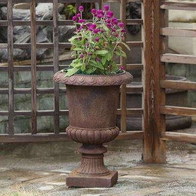 Classic Bronze MgO Fiberclay Urn Planter