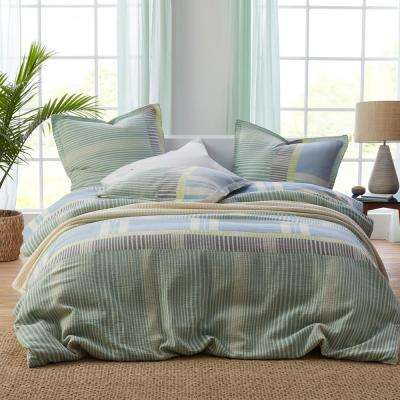 Carousel Striped Cotton Duvet Cover
