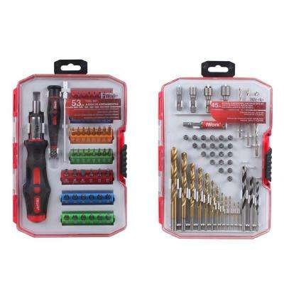 Tool Set Bundle Set (98-Piece)