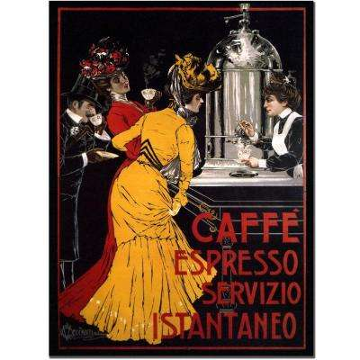35 in. x 47 in. Cafe Espresso Canvas Art