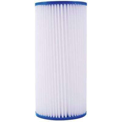 10 in. Pleated Sediment 5 Micron Filter for Full Flow System