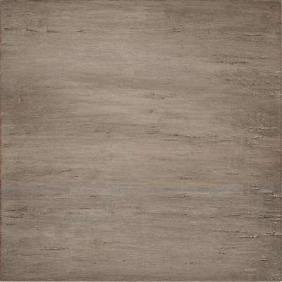 Handscraped Strand Woven Light Taupe 1/2 in. T x 15-3/8 in. W x 15-3/8 in. L Click Bamboo Tile (9.82 sq. ft. / case)
