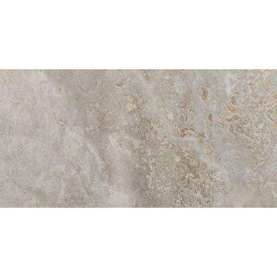 Jupiter Sand 3 in. x 12 in. Single Bullnose Porcelain Floor and Wall Tile