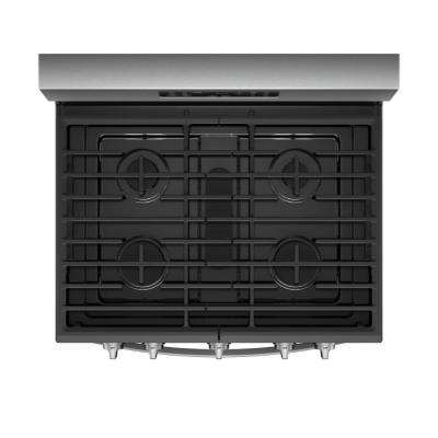 5.8 cu. ft. Gas Freestanding Range in Fingerprint Resistant Stainless Steel with FROZEN BAKE Technology