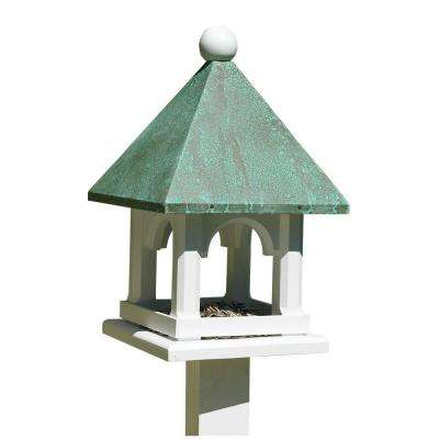 Lazy Hill Farm Designs Mini Feeder with Polished Copper Roof