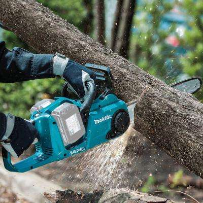 18-Volt X2 (36-Volt) LXT Lithium-Ion Brushless Cordless 14 in. Rear Handle Chainsaw (Tool-Only)