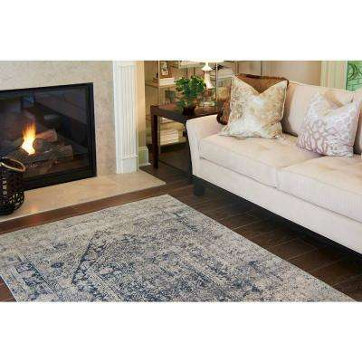Chateau Quincy Gray 4' 0 x 4' 0 Round Rug