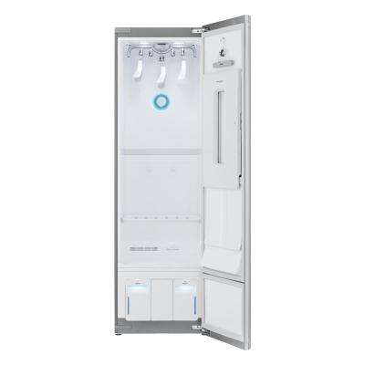 23.5 in. 7.4 cu. ft. Clothes Styler Built-In Steam Clothing Care System