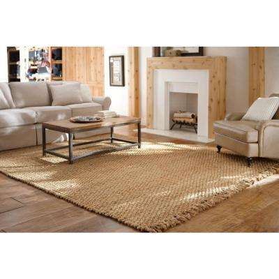 Braided Natural 4 ft. x 6 ft. Area Rug