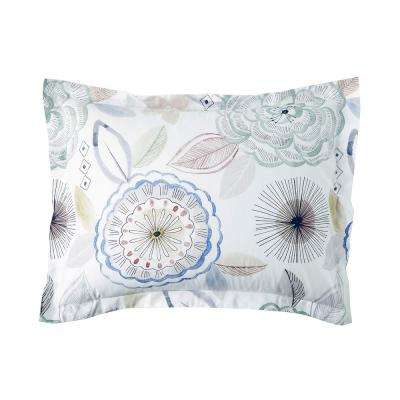 Piper Floral Cotton Percale Sham