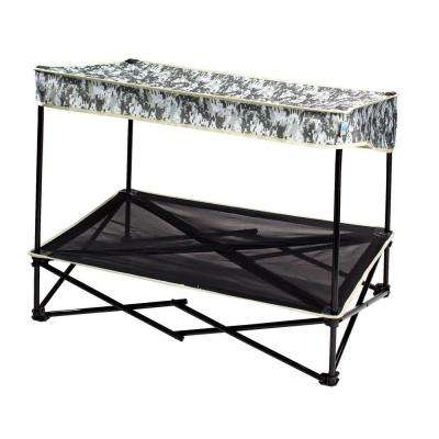3 ft. W x 2 ft. D Medium Instant Pet Shade with Mesh Bed in Digital Camo Pattern